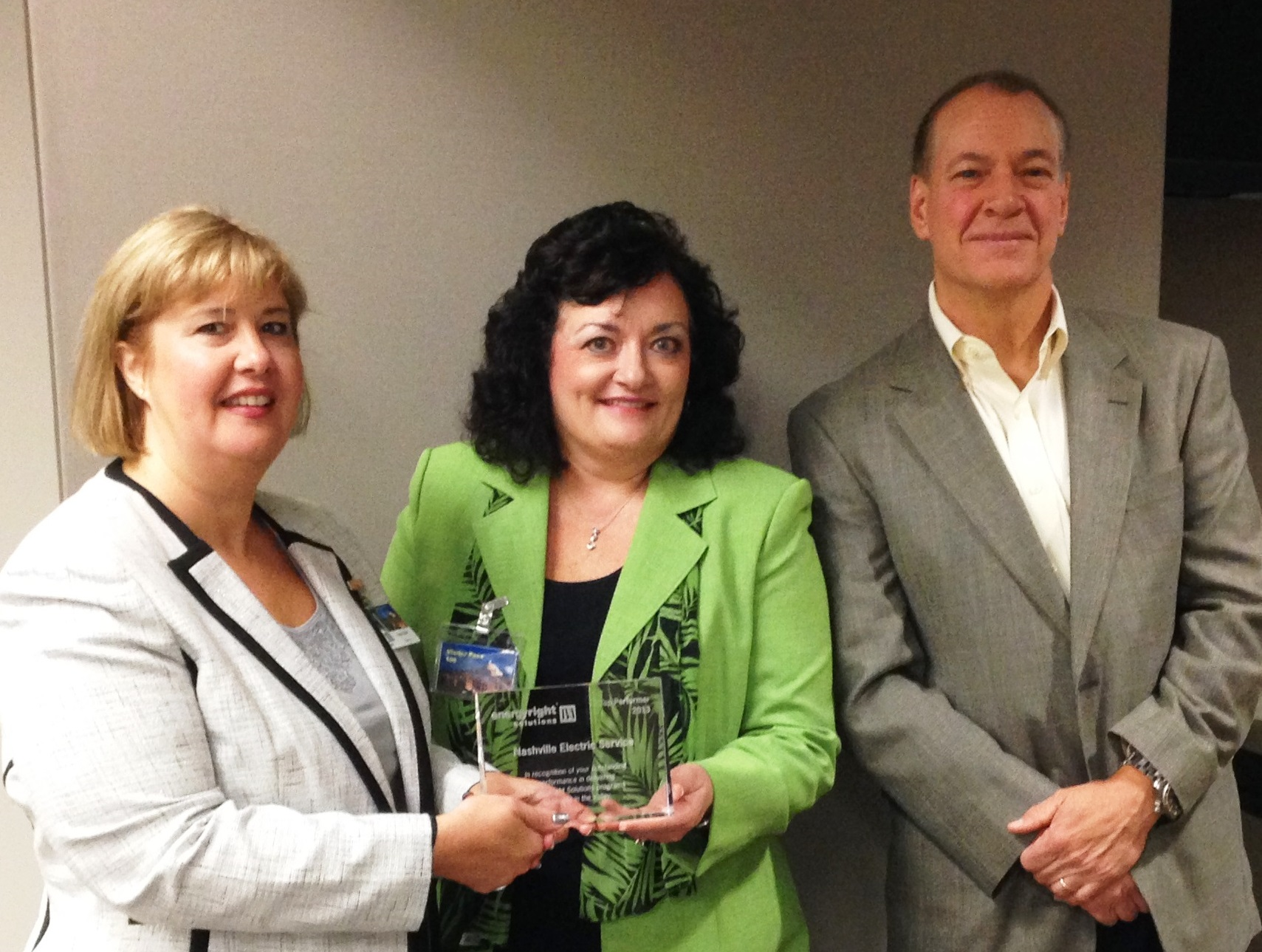TVA presents NES with award for energy efficiency efforts