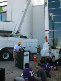 NES at the Adventure Science Center Career Day